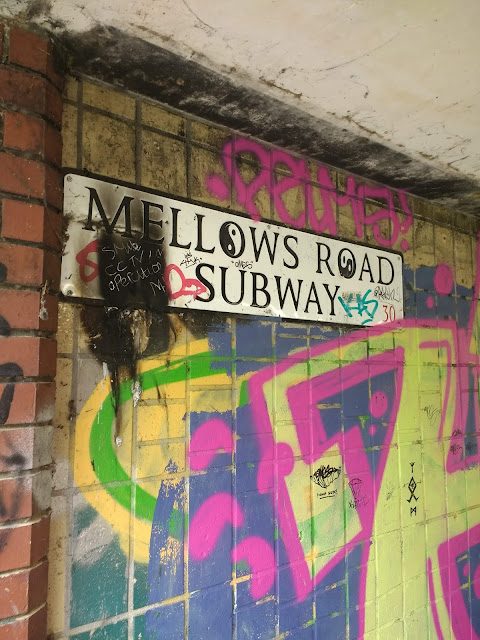 Psychogeography, Peterborough, Mellows Road Subway, Underpass, Liminal