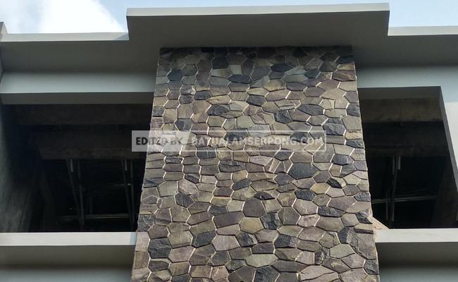 pemasangan unik batu templek purwakarta