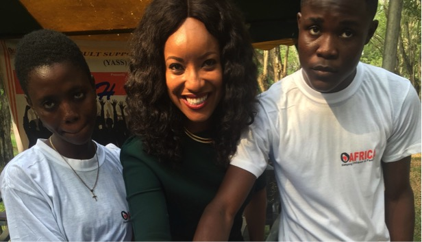 OAfrica celebrates 15 years in Ghana by officially outdooring Joselyn Dumas as Worlwide Ambassador