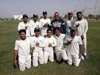 आकाशदीप भाकर की घातक गेंदबाजी से शुभम क्रिकेट अकादमी जीती