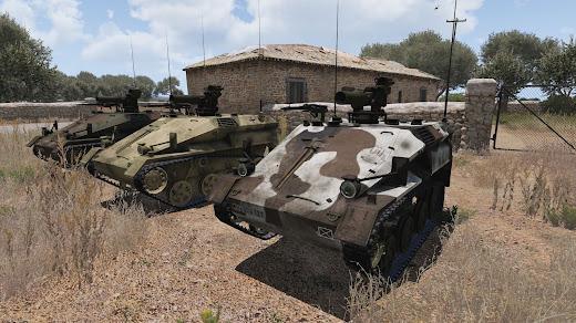 Arma3用MODのWiesel 1空挺戦闘車 ATM仕様