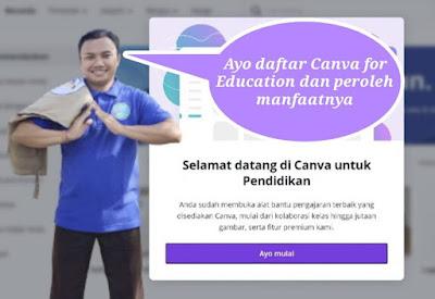 Cara Memperoleh Akun Canva Pro dengan Akun Belajar.id