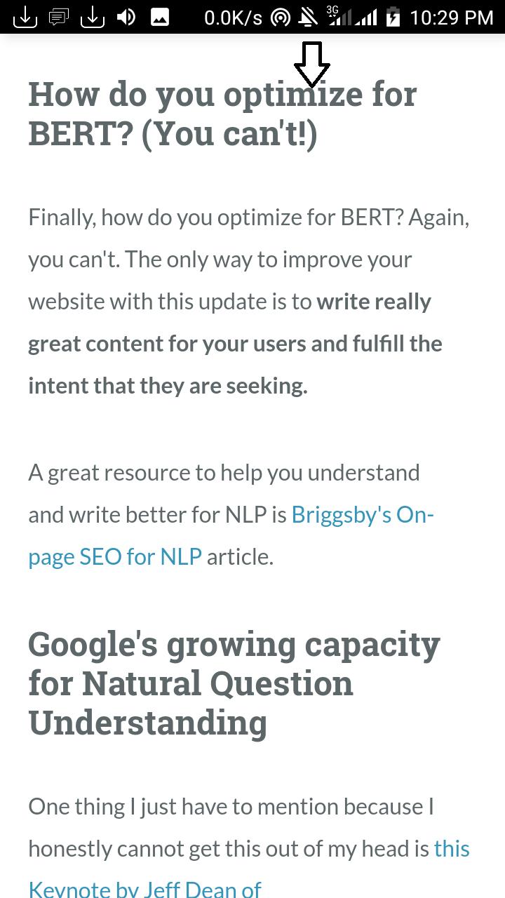 blogspot seo algorithm changes