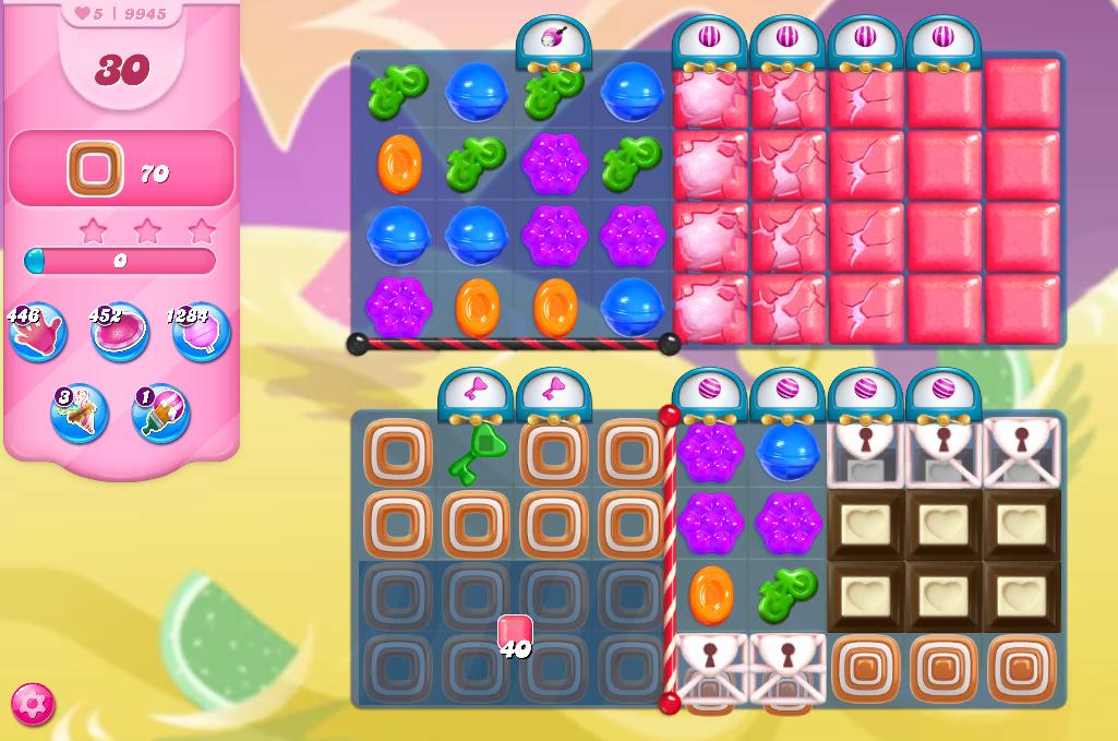 Candy Crush Saga level 9945