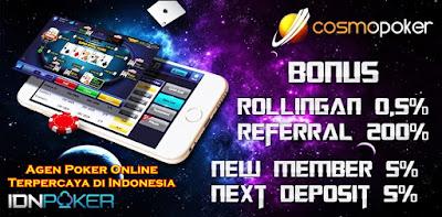 CosmoPoker Agen Poker Online Terpercaya di Indonesia