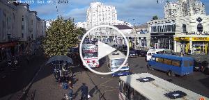 Веб камера вулиця Пантелеймонівська возле привоза