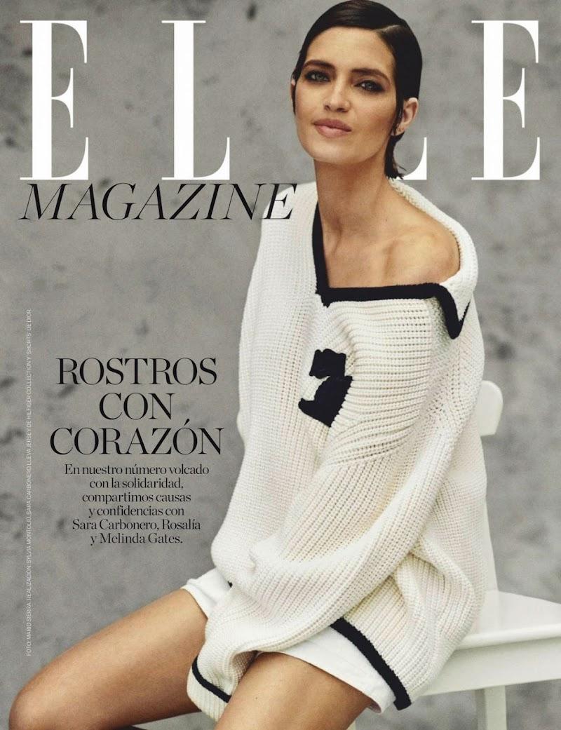 Sara Carbonero  Featured In ELLE Magazine Spain July 2020 Issue