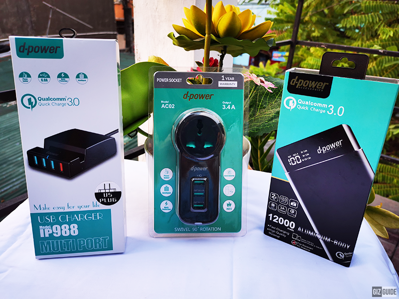 Meet some of our favorite d-power chargers and power banks