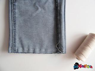 riciclo creativo dei jeans