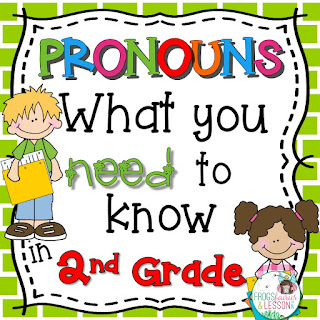 2nd Grade Pronoun Activities