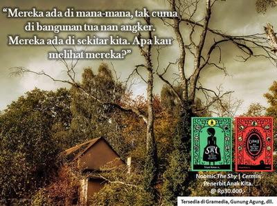 novel horor Cermin dan The Shy