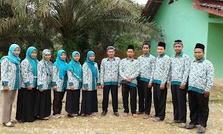 Dewan guru Mts Miftahussalam Megang sakti 2016- 2017