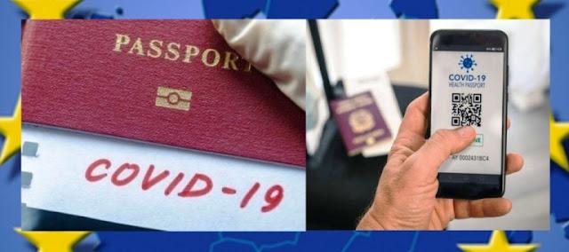 """In arrivo il """"Digital Green Certificate"""", il passaporto vaccinale europeo anti CoVid-19"""