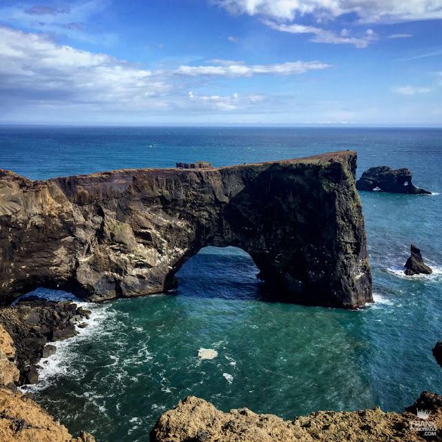 arco natural Dyrhólaey islandia