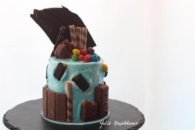 yetişkin pastası, delicious cake