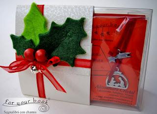 segnalibro regalo natale personalizzato