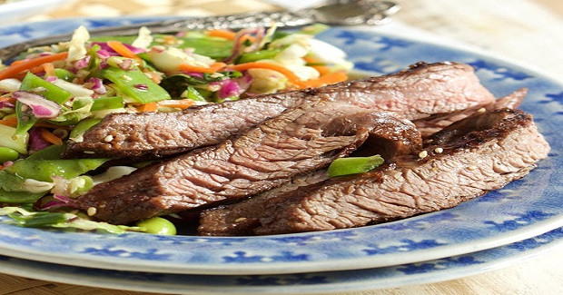 Five Spice Teriyaki Flank Steak Recipe