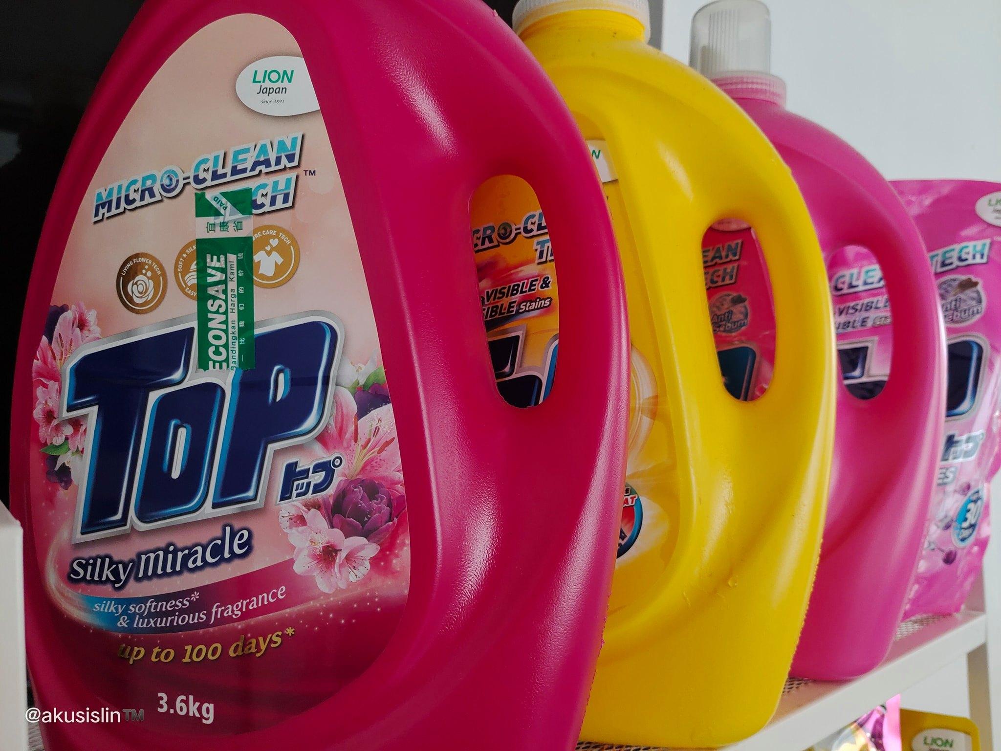 Komitmen TOP untuk Inovasi Teknologi Pencuci Pakaian Berterusan Menghasilkan Detergen yang Menyingkirkan 99.9% Virus Tepat Pada Masa untuk Pemulihan Pandemik