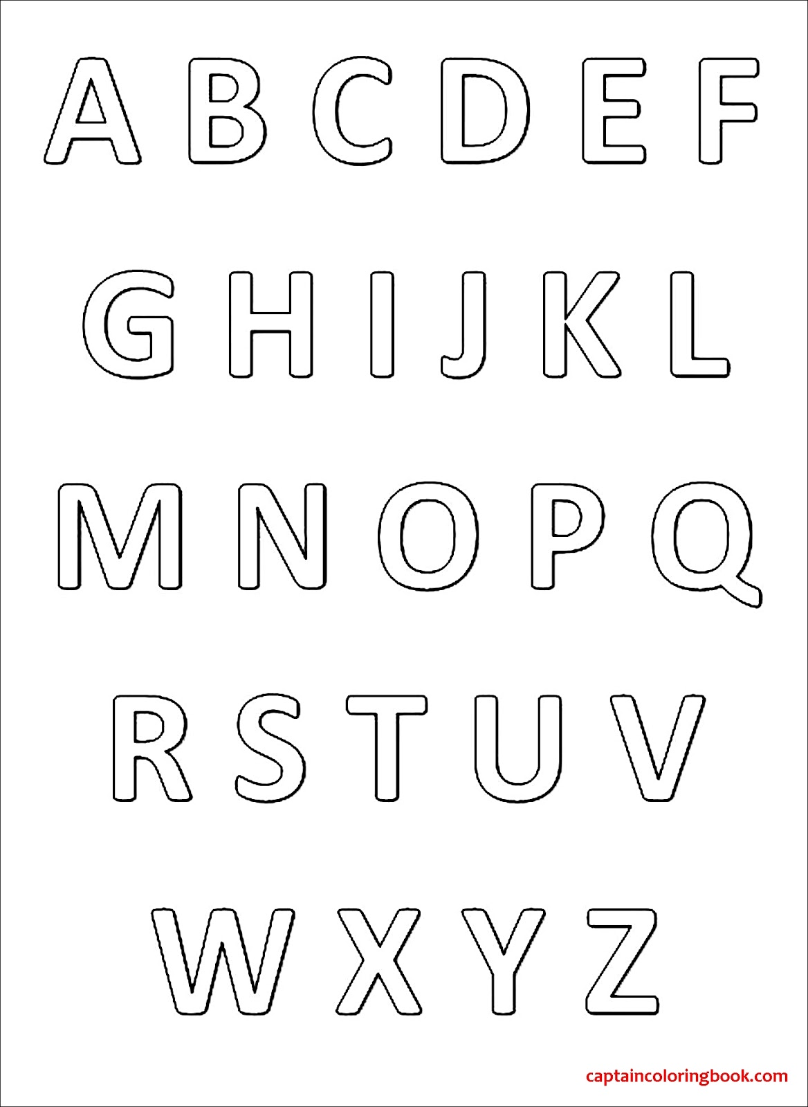 a to z alphabet drawing pictures pdf