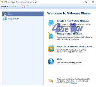 VMware Player 12.5.4 Terbaru