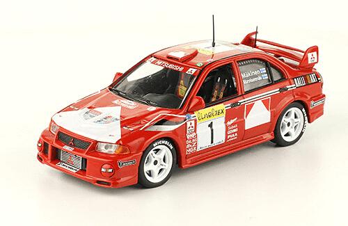 collezione rally monte carlo Mitsubishi Lancer Evo VI 1999 Makinen - Mannisenmaki