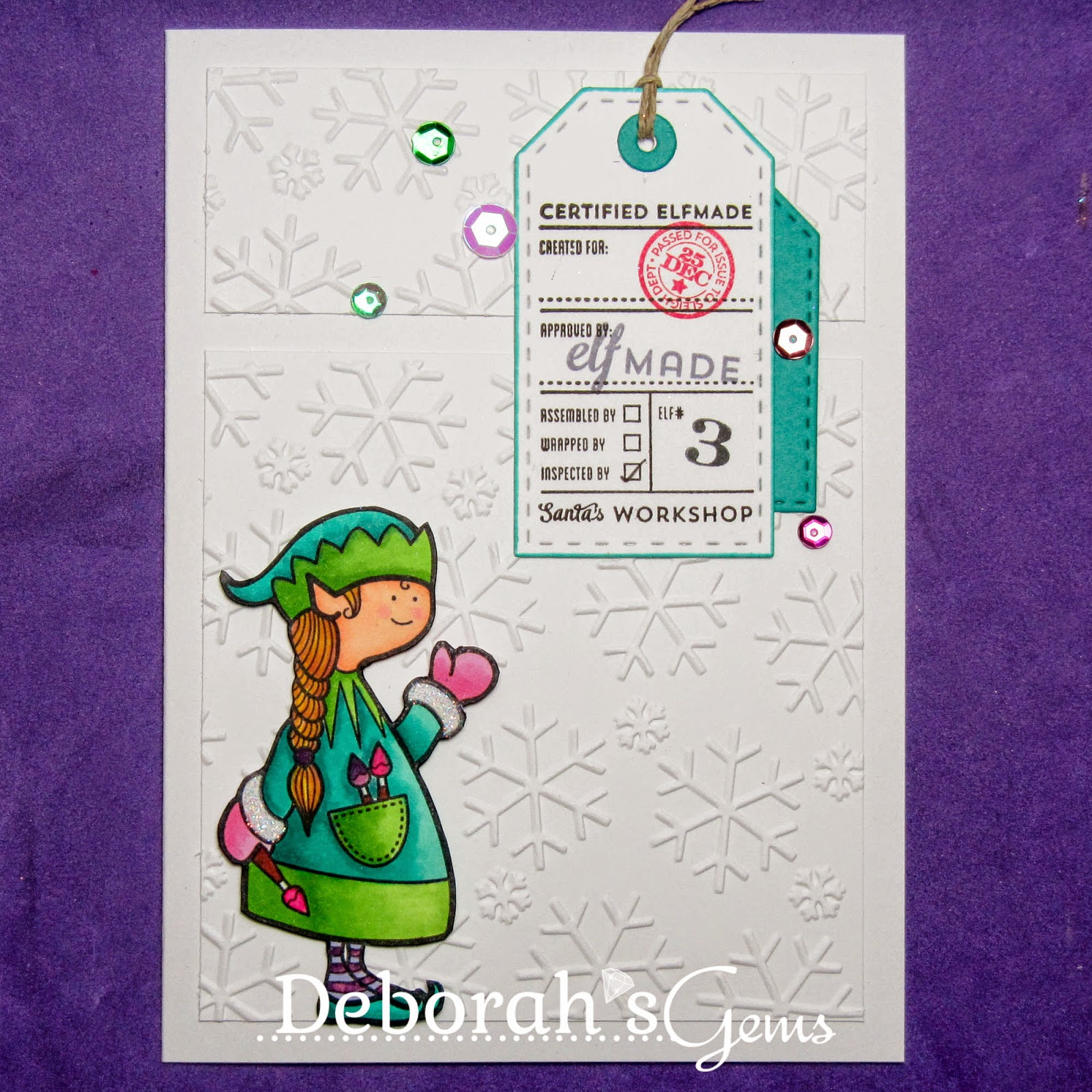 Elf Made sq - photo by Deborah Frings - Deborah's Gems
