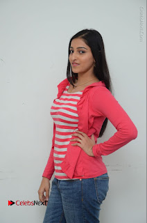 Telugu Actress Mouryani Latest Pos in Blue Denim Jeans  0078.JPG