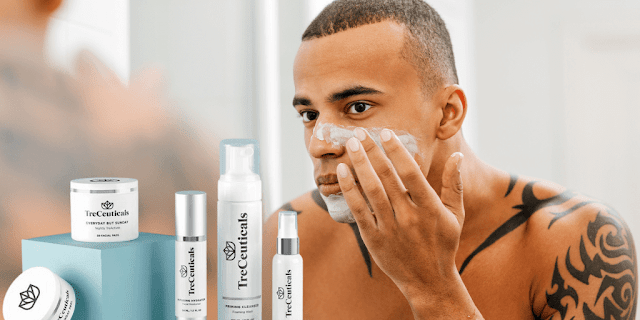 TreCeuticals Skincare For Men BY BARBIES BEAUTY BITS