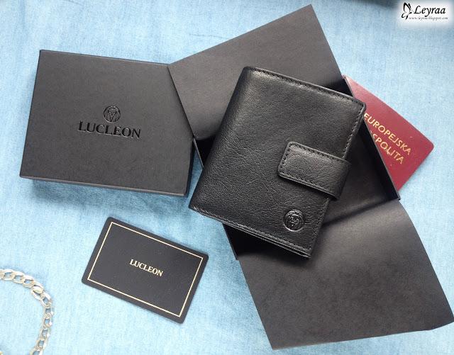 Prezent na dzień mężczyzny - skórzany portfel męski