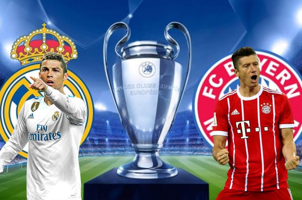 REAL MADRID BAYERN MONACO Streaming Live: info Canale 5 Facebook YouTube, dove vederla Gratis con il cellulare
