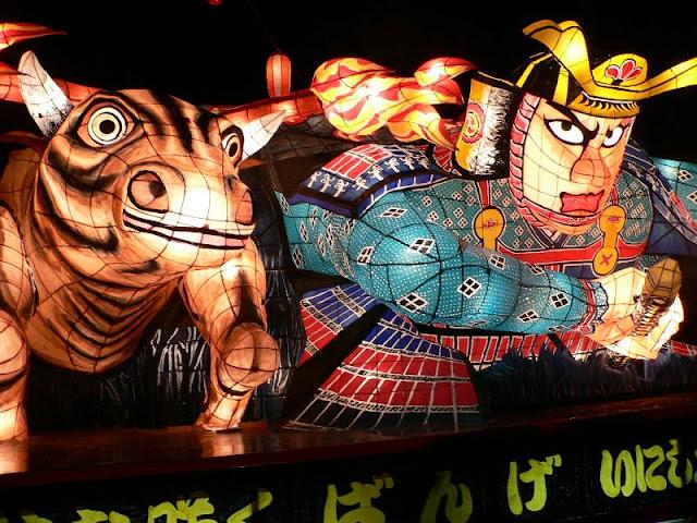 Bange Summer Festival, Aizu-Bangemachi, Fukushima Pref.