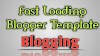 Fast Loading Blogger Template 2020 Free Download