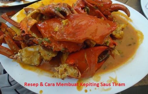Resep kepiting saus tiram
