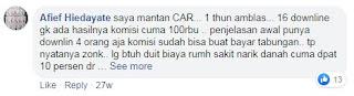 Keluhan nasabah CAR  3