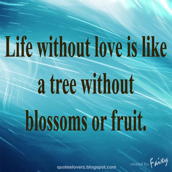 Quotes About Life Without Love: QUOTES LOVERZ