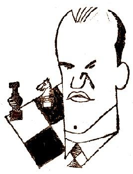 Caricatura de Jaime Casas Casas
