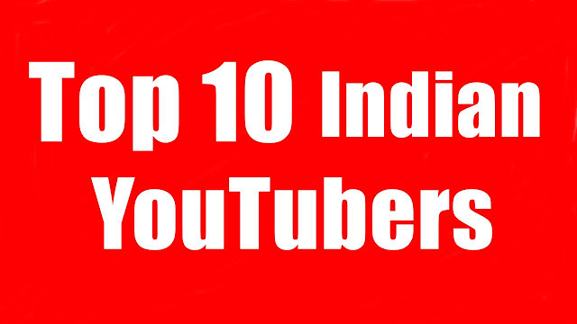 top 10 indian youtubers in 2020