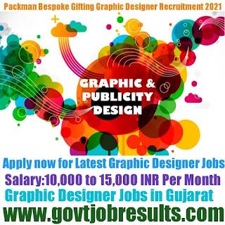 Packman Bespoke Gifting Graphic Designer Recruitment 2021-22