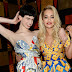 Katy Perry, Rita Ora and other guests at dinner fashion house Moschino