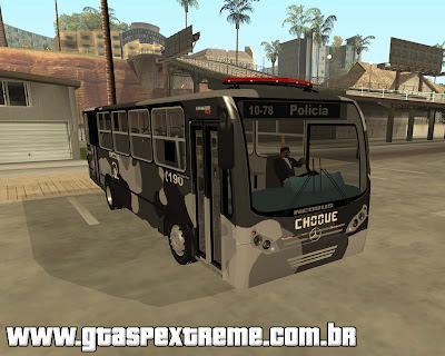 Onibus 2ª Batalhão do Choque SP para grand theft auto