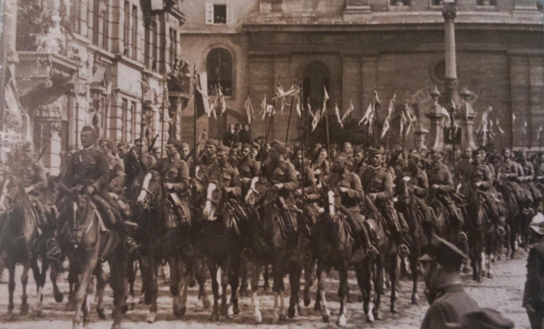 Parada wojskowa, Lwów 1936 r.