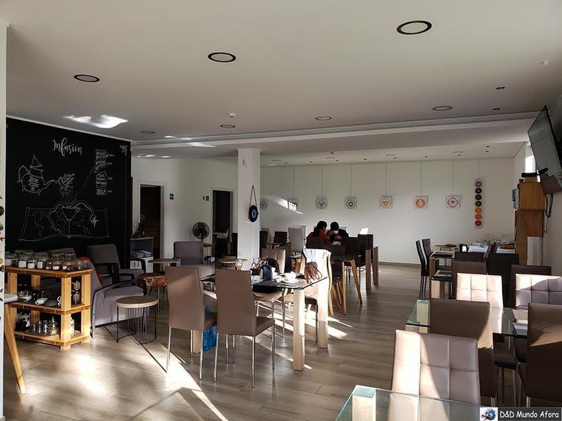 Restaurante do Hotel Infusion - onde ficar em Óbidos