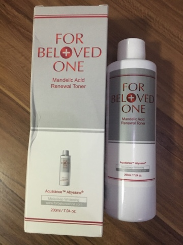 For Beloved One Mandelic Acid Review