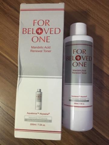 For Beloved One Mandelic Acid Review