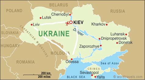 Johnnys Guide to Ukraine Kiev Odessa Lviv and Chernobyl