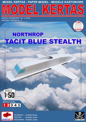 Image of 1/50 Northrop Tacit Blue Stealth