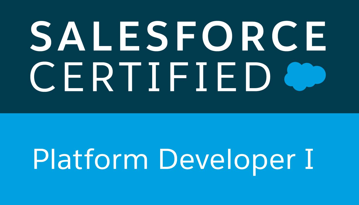 Salesforce Certified Platform Developer I verification for Richard Upton