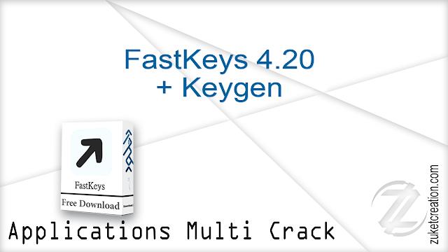 FastKeys 4.20 + Keygen  |  3 MB