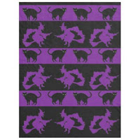 Bewitching Cats blanket by Mindful Humanism