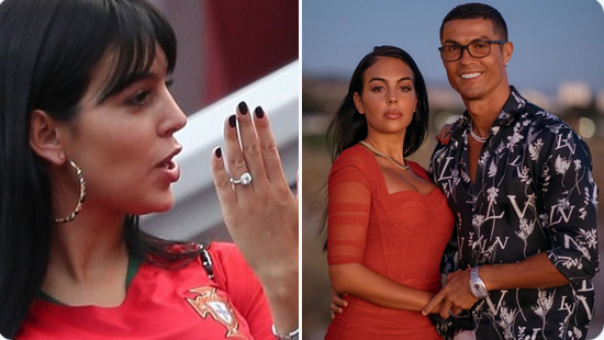 Cristiano Ronaldo Tops Footballers Engagement Ring League With 615 000 Sparkler For Fiancee